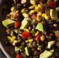 Cilantro Lime Black Bean Salad