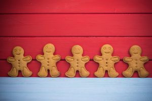 gluten free dairy free gingerbread cookies