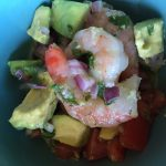 Lime Lovers Shrimp and Avocado Salad