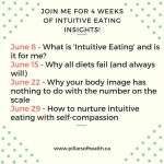 Want to Learn More Intuitive Eating and Rebuild your Relationship with Food?